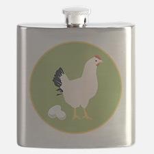 Chicken Round Flask