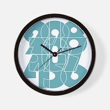 nvy-ss_cnumber Wall Clock