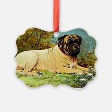 Antique 1908 English Mastiff Dog  Ornament