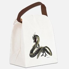 The Silver Dragon Canvas Lunch Bag