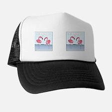 flamingosMug Trucker Hat