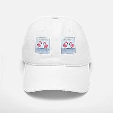 flamingosMug Baseball Baseball Cap