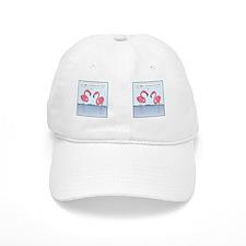 flamingosMug Baseball Cap