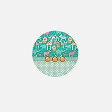 Baby Safari Mini Button