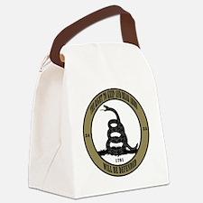 Defend the Second Amendment Canvas Lunch Bag