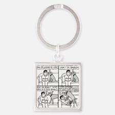 Dinner Time Square Keychain