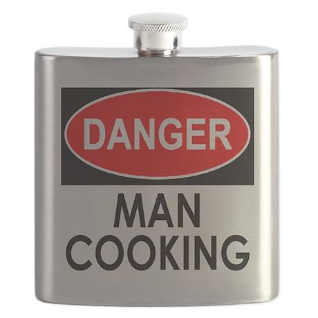 Danger Man Cooking Flask