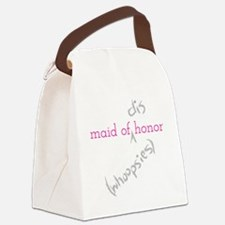 Maid of (Dis)honor Whoopsies Canvas Lunch Bag