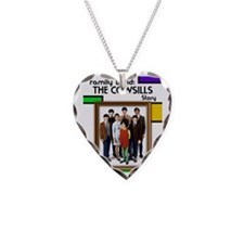 Cowsills Poster Necklace Heart Charm