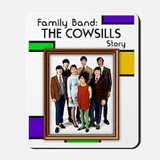 Cowsills Poster Mousepad