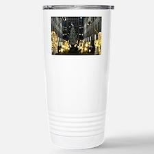 NY Holiday 9X12 Travel Mug