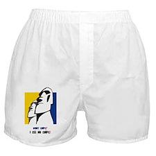WHAT SHIPS - I SEE NO SHIPS! Boxer Shorts
