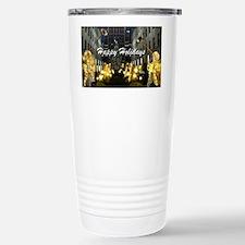 NY Happy Holidays Travel Mug