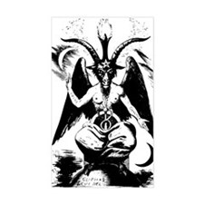 Baphomet Rectangle Decal