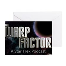 THE WARP  FACTOR - Poster Greeting Card