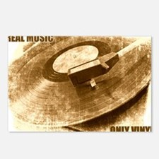 Real Music Only Vinyl Postcards (Package of 8)