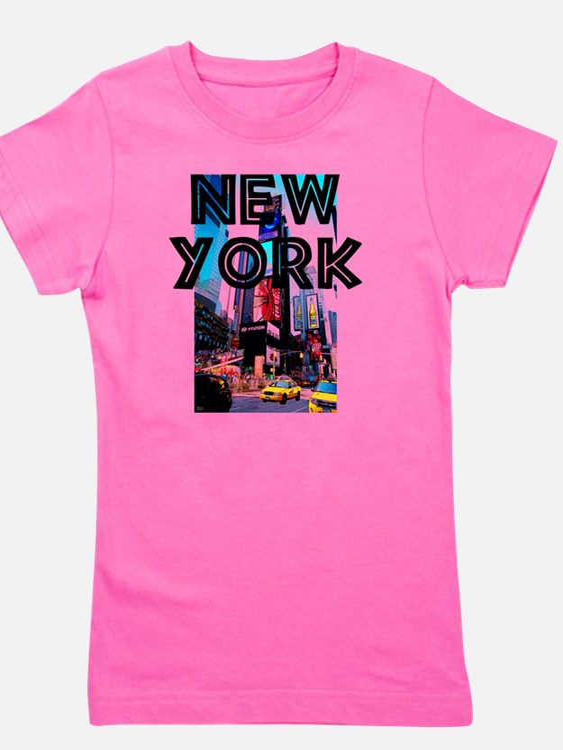 NewYork_12x12_TimesSquare Girl's Tee