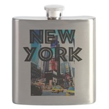 NewYork_12x12_TimesSquare Flask