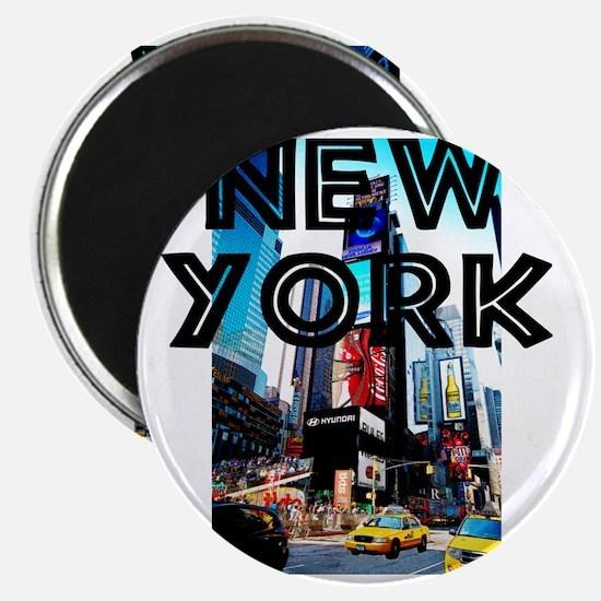 NewYork_12x12_TimesSquare Magnet
