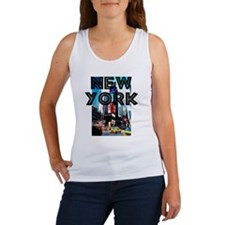 NewYork_12x12_TimesSquare Women's Tank Top