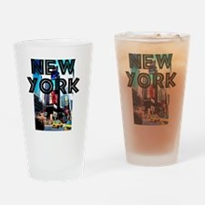 NewYork_12x12_TimesSquare Drinking Glass