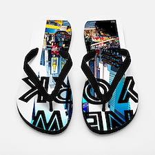 NewYork_12x12_TimesSquare Flip Flops