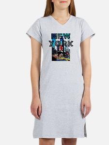 NewYork_12x12_TimesSquare Women's Nightshirt