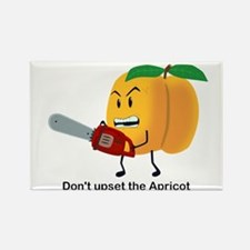Don't Upset The Apricot Rectangle Magnet