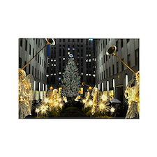 NY Holiday 10X14 Rectangle Magnet