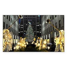 NY Holiday 10X14 Decal