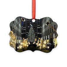 NY Holiday 11X15 Ornament