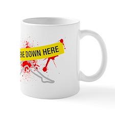 Crime Scene Small Mug