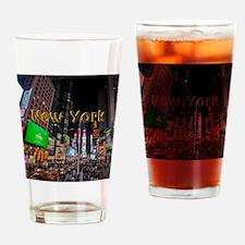 NewYork_11x9_CalendarPrint_TimesSqu Drinking Glass