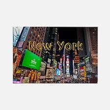 NewYork_11x9_CalendarPrint_TimesS Rectangle Magnet