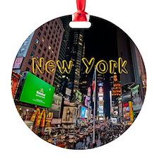 NewYork_11x9_CalendarPrint_TimesSqu Ornament
