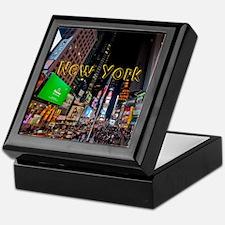 NewYork_11x9_CalendarPrint_TimesSquar Keepsake Box
