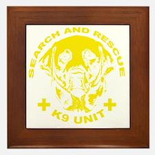 K9 UNIT Framed Tile