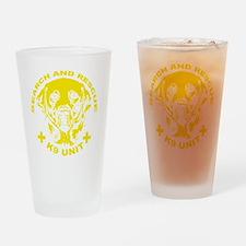 K9 UNIT Drinking Glass