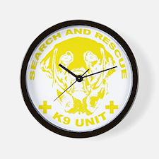 K9 UNIT Wall Clock