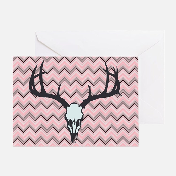 Deer Skull Greeting Card