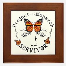 Project Monarch Survivor Framed Tile