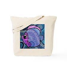 mosaic fish Tote Bag