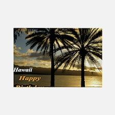 Sunset Haleiwa, Oahu Rectangle Magnet