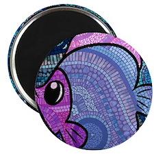 mosaic fish Magnet