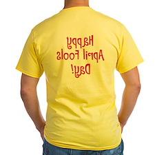 """Happy Yad Sloof Lirpa"" T"