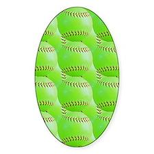 Softball Decal
