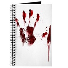 Bloody Handprint Journal
