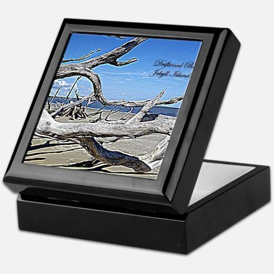 Driftwood Beach Keepsake Box