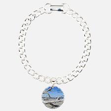 Driftwood Beach Charm Bracelet, One Charm