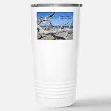 Driftwood Beach Stainless Steel Travel Mug